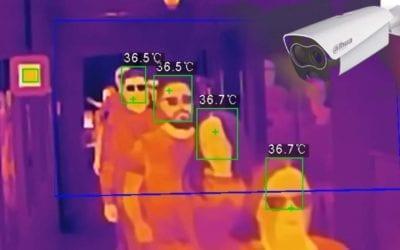 Dodáváme termokamery, které měří teplotu osob v davu